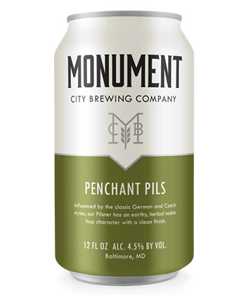 18 Best Thanksgiving Beers: Monument City Penchant Pils