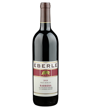 Eberle Barbera is one of the 50 best wines of 2020