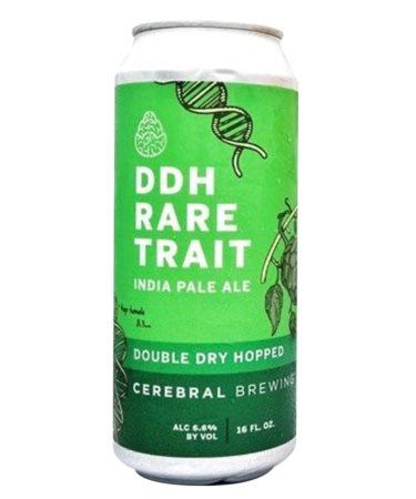 Cerebral Brewing DDH Rare Trait Double IPA