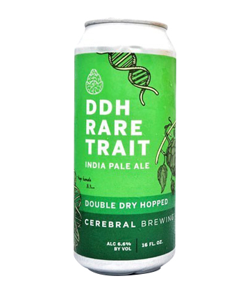 Cerebral Brewing DDH Rare Trait Double IPA is one of the Most Important IPAs Right Now (2020)