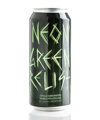 Hop Butcher for the World Neon Green Relsih is one of the Most Important IPAs Right Now (2020)