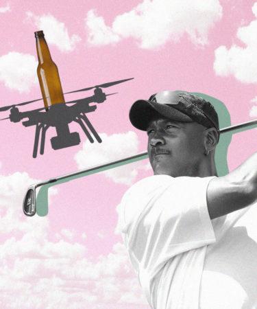Viral Video Shows Off Beer-Delivering Drones at Michael Jordon's Golf Course