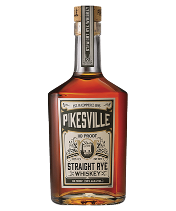 The 50 Best Spirits of 2020: Pikesville Straight Rye