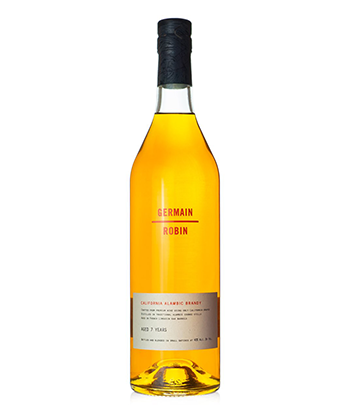 The 50 Best Spirits of 2020: Germain-Robin California Alambic Brandy