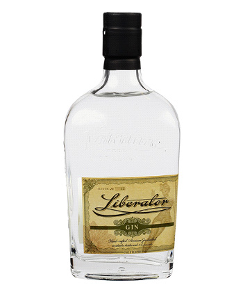 10 Bottles Bartenders Recommend You Keep on Your Home Bar Cart: Valentine Distilling Liberator Barrel-Aged Gin