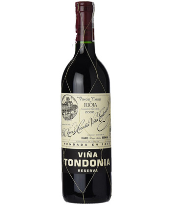 The Best Bottles for Post-Pandemic Celebration: 2006 R. López de Heredia Vina Tondonia Reserva