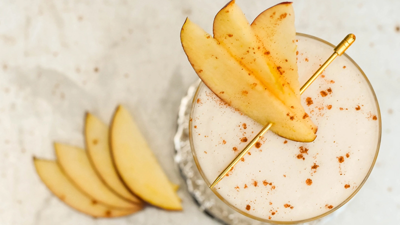 The Bourbon Apple Cider Sour