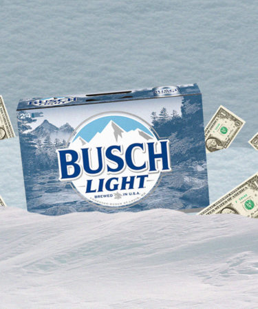 Live in One of These States? Every Inch of Snow Means $1 off Busch Beers