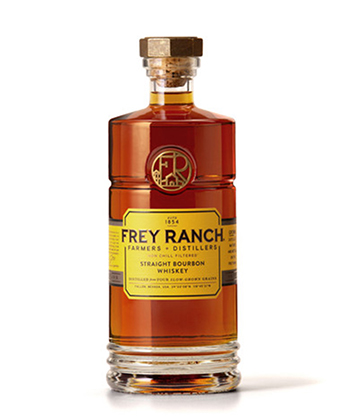 Frey Ranch is one of the best bourbons under $100