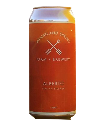 Wheatland Spring Farm and Brewery Alberto is one of the best Italian-Style Pilsners to try
