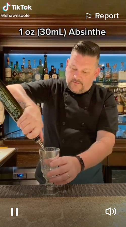 ShawnSoole is one of the best drinks accounts to follow on TikTok