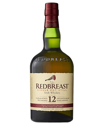 Redbreast is one of the best St. Patrick's Day drinks.