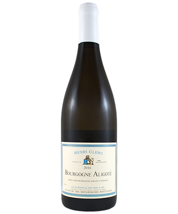Henri Clerc Bourgogne Aligote is one of the best cheap wines at Wine Library