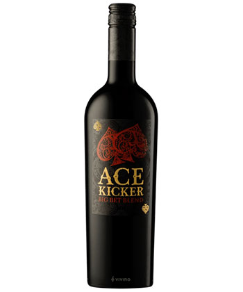Ace Kicker 'Big Bet' Blend is one of the Best Red Blends for 2021