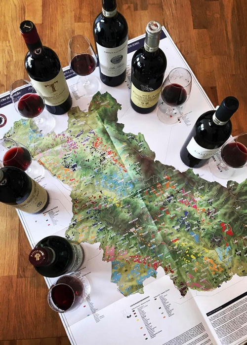 While many Tuscan wines are made with Sangiovese, those from the Chianti Classico DOCG especially shine.