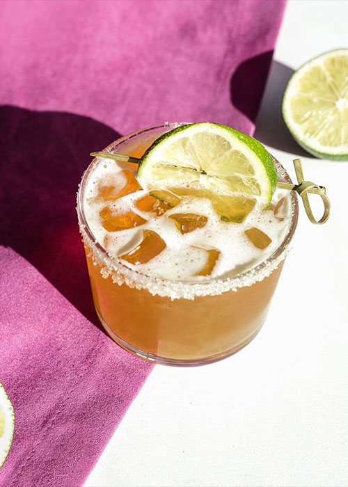 The Morning Margarita is one of the best brunch cocktails for Easter.