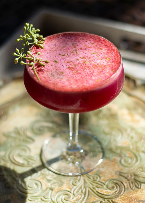 The Healthy Habit is one of the best passover cocktails.