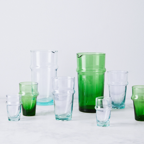 The best recycled glassware.
