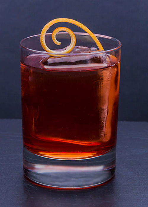 The Boulevardier is one of the most popular and essential bourbon cocktails.