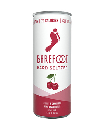 Barefoot Cherry & Cranberry is one of the best hard seltzers of 2021.