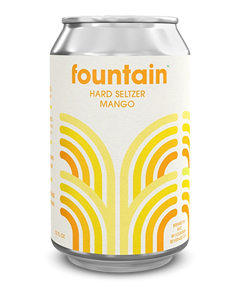 Fountain Beverage Co. Mango is one of the best hard seltzers of 2021.