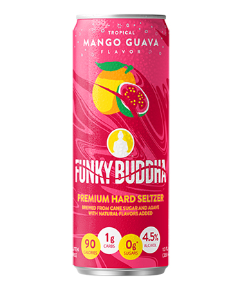 Funky Buddha Tropical Mango Guava is one of the best hard seltzers of 2021.