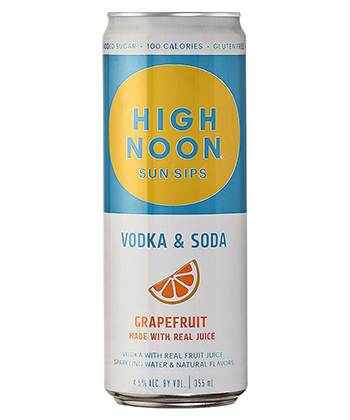 High Noon Grapefruit is one of the best hard seltzers of 2021.