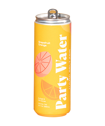 Five Boroughs Brewing Co. Party Water Grapefruit Orange is one of the best hard seltzers of 2021.