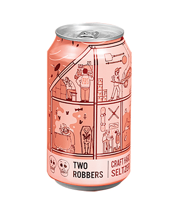 Two Robbers Raspberry Lime is one of the best hard seltzers of 2021.