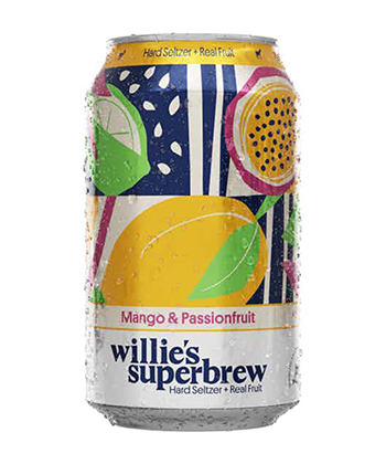 Willie's Superbrew Mango & Passionfruit is one of the best hard seltzers of 2021.