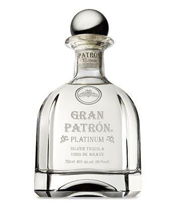 Gran Patrón Platinum is one of the best tequilas over $100.