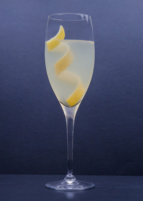 The French 75 is one of the most popular and essential gin cocktails.