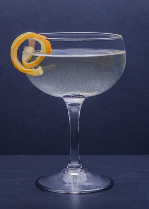 The Vesper is one of the most popular and essential gin cocktails.