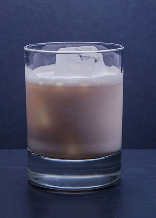 White Russian is one of the best cold coffee cocktails.
