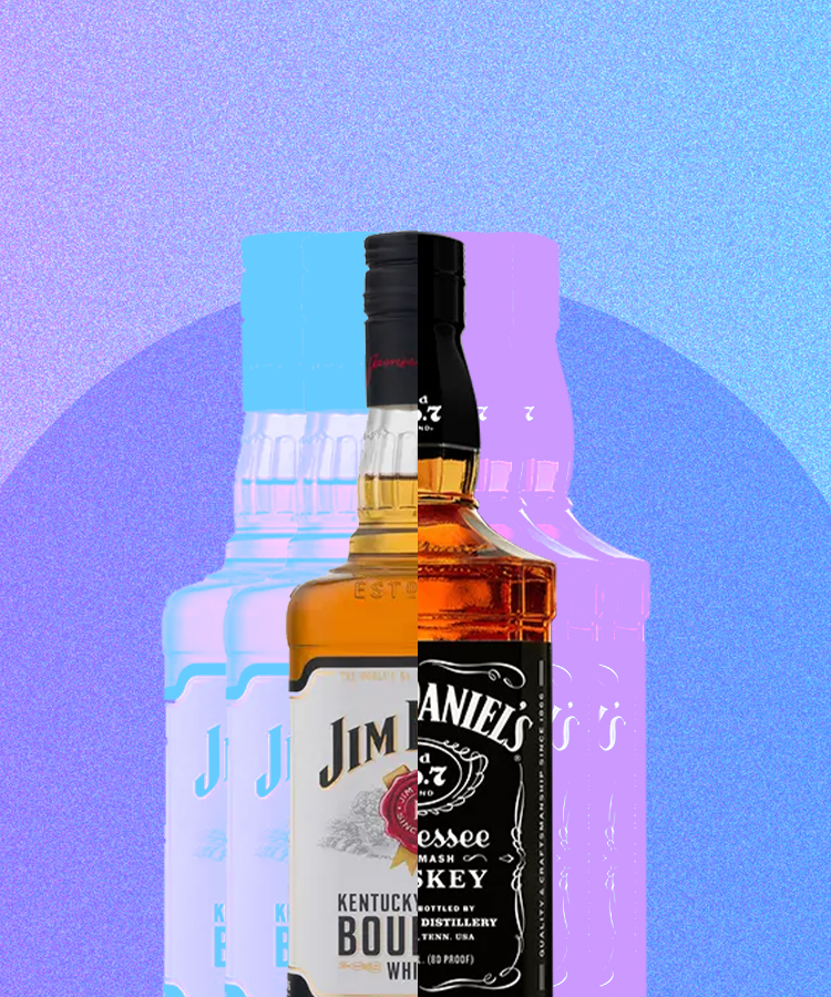 The Difference Between Jack Daniel's and Jim Beam, Explained
