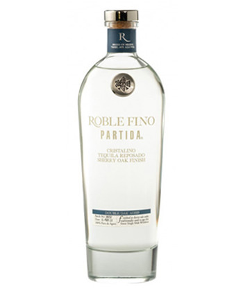 Roble Fino Partida Cristalino Reposado Sherry Oak Finish is one of the best tequilas over $100.
