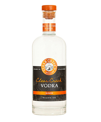 Clear Creek Distillery Vodka is one of the best new vodkas.
