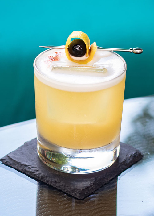 The Whiskey Sour is one of the most popular and essential whiskey cocktails.