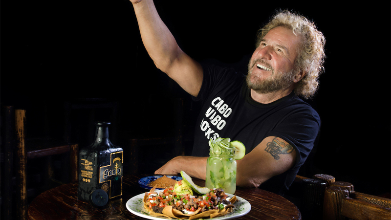 The first celebrity tequila was Sammy Hagar's Cabo Wabo