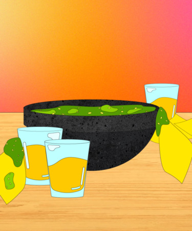The Tequila-Spiked 'Drunken' Salsa Your Taco Night Deserves