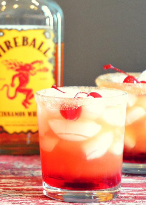 Fireball Cherry Apple Bomb is one of the best fireball cocktails