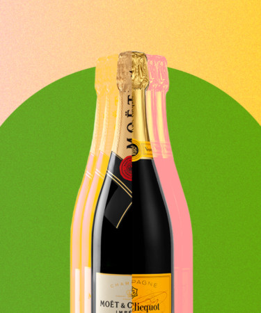 The Difference Between Moët & Chandon and Veuve Clicquot, Explained