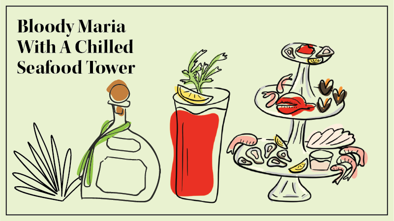 A Bloody Maria is tequila's take on the classic Bloody Mary.