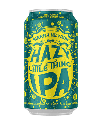 Sierra Nevada's Hazy Little Thing IPA is one of the best IPAs for beginners.