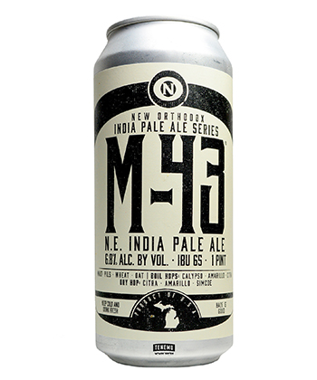 Old Nation's M-43 is one of the best IPAs for beginners.