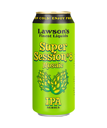 Lawson's Finest Super Session 8 is one of the best IPAs for beginnings