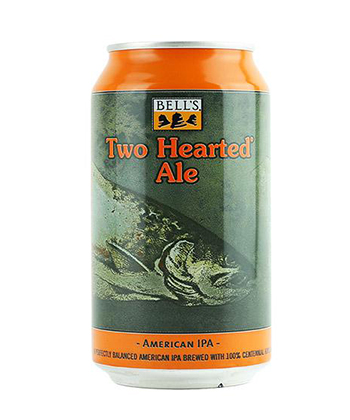 Bell's Two Hearted Ale is one of the best IPAs for beginners.