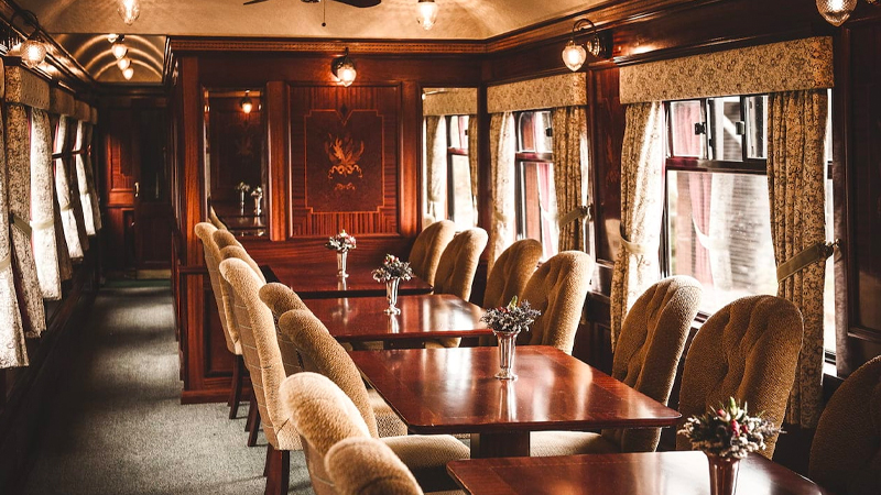 This luxury train ride offers the ideal excursion for Scotch whisky lovers