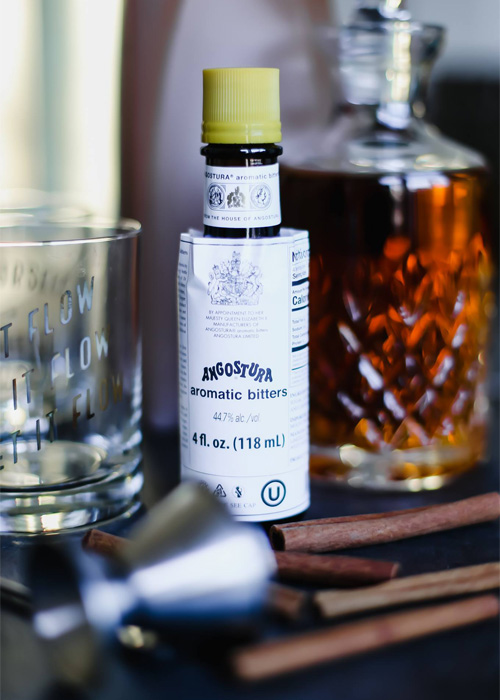 Here's why the Angostura bitters label is too big for the bottle