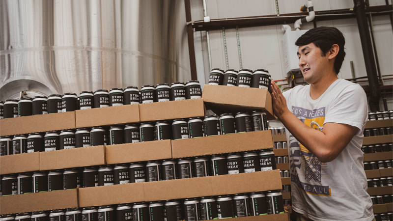 Study Break hard seltzer was created by a 19-year-old college student